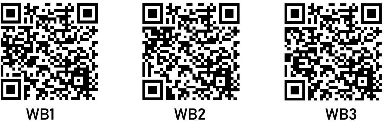 QR-Codes WBs